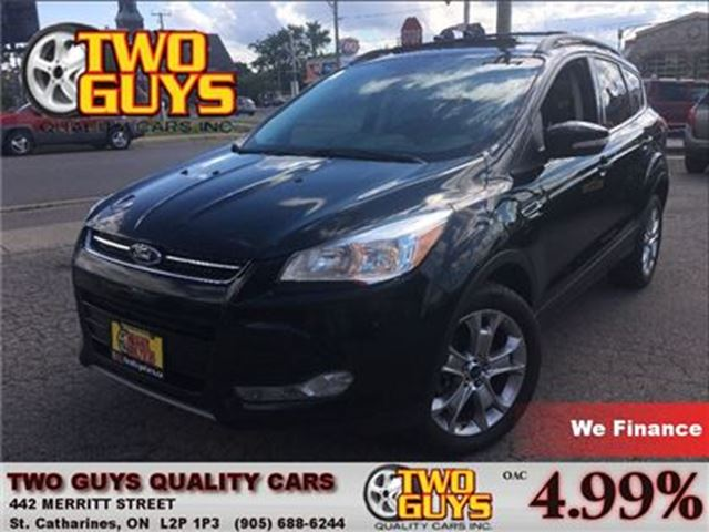 2013 FORD ESCAPE SEL LEATHER AWD NAV PANOROOF 2.0L in St Catharines, Ontario