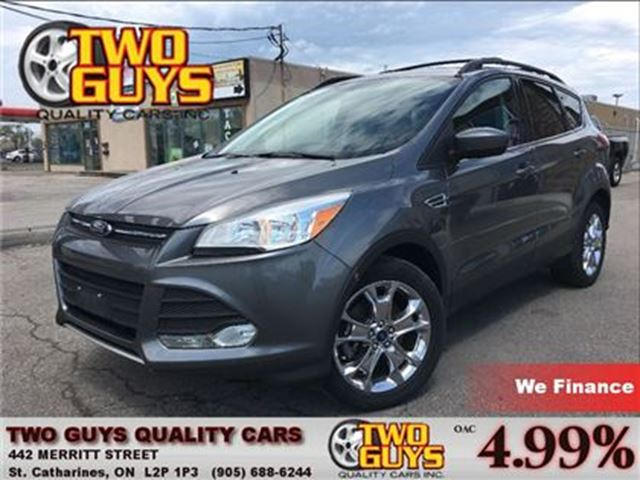 2014 FORD ESCAPE SE LEATHER NAV PANOROOF AWD in St Catharines, Ontario