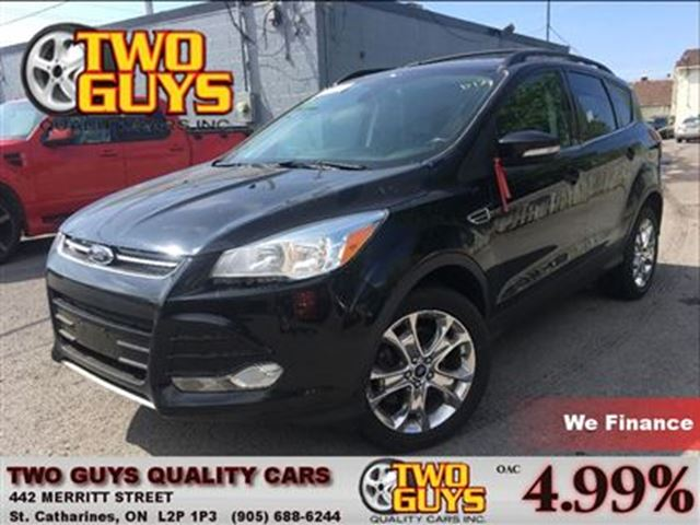 2013 FORD ESCAPE SEL LEATHER NAV PANOROOF FWD in St Catharines, Ontario