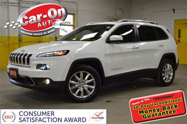 2015 JEEP CHEROKEE Limited 15,000 km LEATHER NAV in Ottawa, Ontario