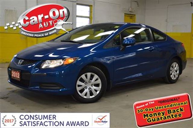 2012 HONDA CIVIC COUPE AUTOMATIC  AIR BLUETOOTH ONLY 56000KM in Ottawa, Ontario