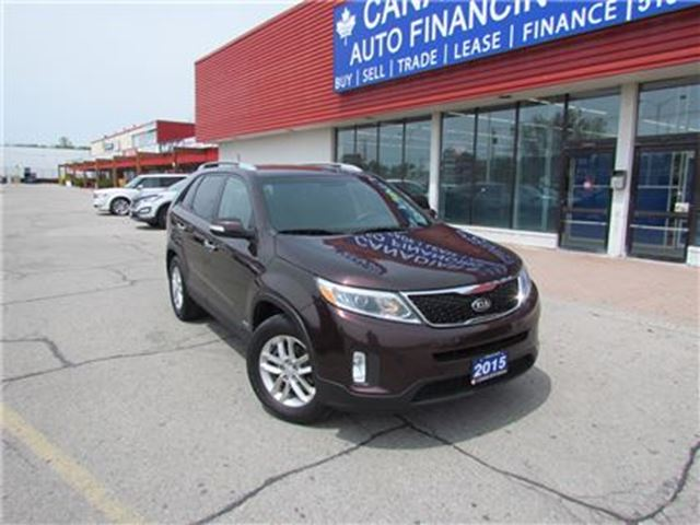 2015 KIA SORENTO LX   AWD   BLUETOOTH   SAT RADIO in London, Ontario