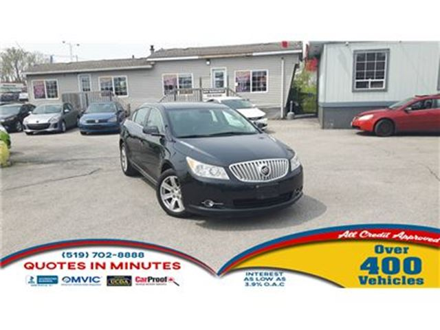 2011 BUICK LACROSSE CXL   LEATHER   HEATED SEATS in London, Ontario