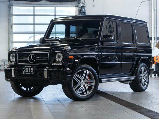 2015 Mercedes-Benz G-Class G 63 AMG 4MATIC in Kelowna, British Columbia