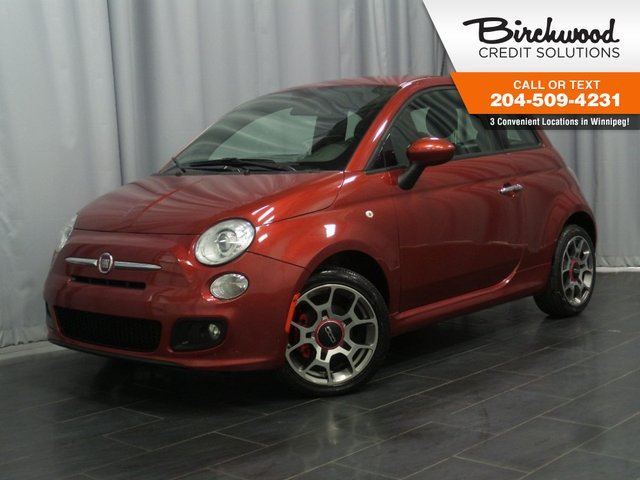 2014 FIAT 500 Sport *ACCIDENT FREE* *SPORT* in Winnipeg, Manitoba