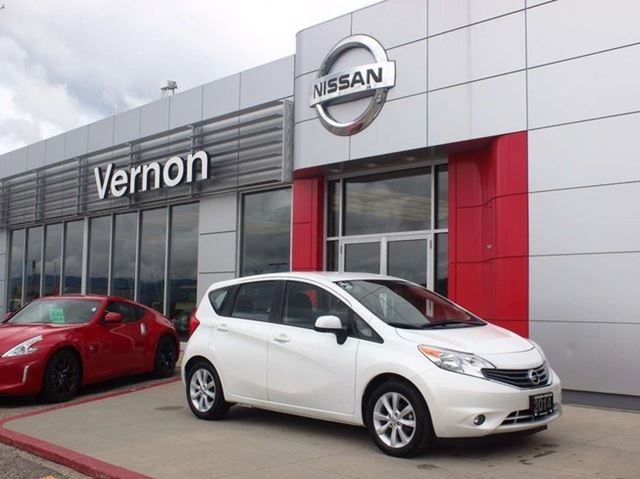 2014 Nissan Versa SL with Tech Package in Kelowna, British Columbia