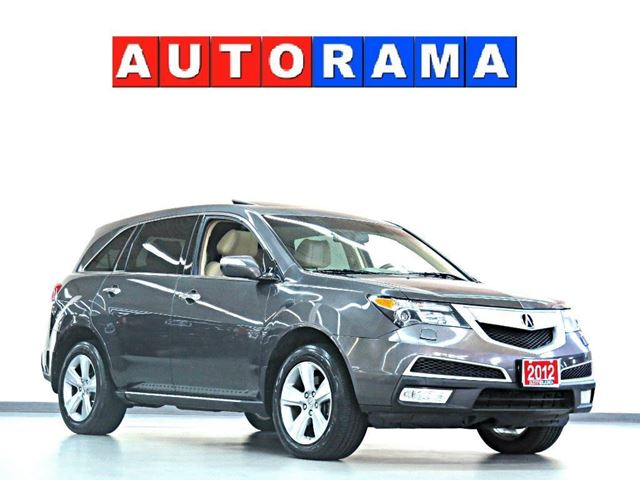 2012 ACURA MDX ELITE PKG NAVIGATION LEATHER SUNROOF 4WD 7 PASS in North York, Ontario