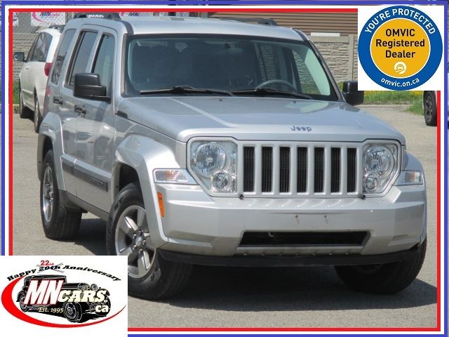 2008 JEEP LIBERTY Sport 4WD Trail Rated LOW KMs in Ottawa, Ontario