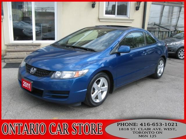 2011 HONDA CIVIC SE 2DR. COUPE SUNROOF in Toronto, Ontario