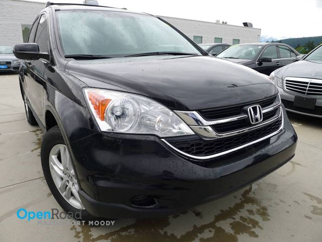 2011 HONDA CR-V EX-L A/T 4WD Leather Heated Seat Sunroof AUX TC in Port Moody, British Columbia