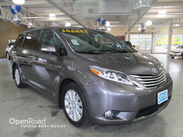 2016 TOYOTA SIENNA XLE AWD Limited - Loaded! Entertainment System, in Port Moody, British Columbia