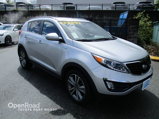 2014 KIA SPORTAGE SX - Leather, Backup Camera, Bluetooth in Port Moody, British Columbia