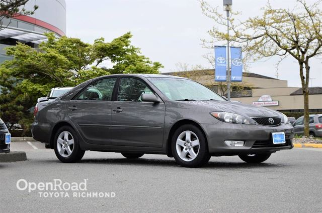 2005 TOYOTA CAMRY Low low mileage, SE Package, alloy wheels, remo in Richmond, British Columbia