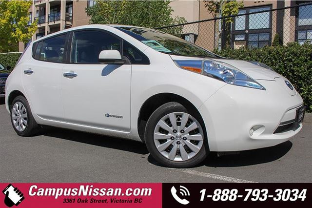 2013 NISSAN LEAF S QUICK CHARGE in Victoria, British Columbia