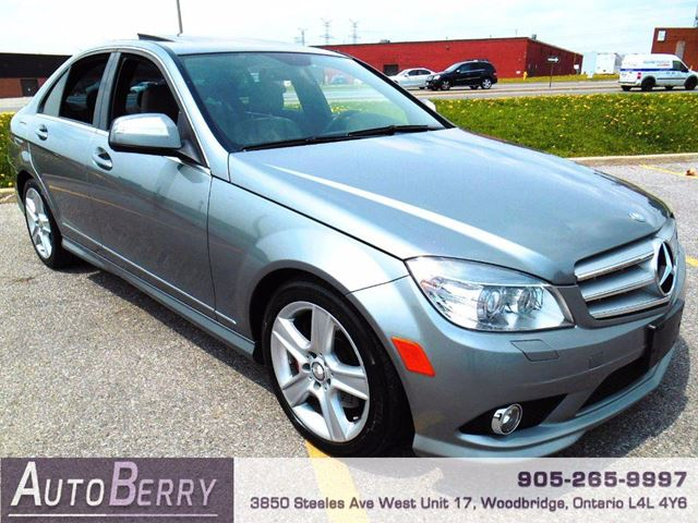 Used 2008 mercedes benz c class c300 4matic woodbridge for 2008 mercedes benz c class c300 for sale