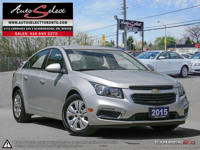 2015 CHEVROLET Cruze ONLY 20K! **LED LIGHTS PKG** CLEAN CARPROOF  in Scarborough, Ontario