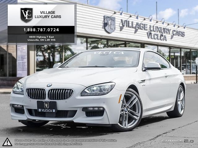 2012 BMW 6 Series xDrive HEADS UP DISPLAY | M SPORT | LANE ASSIST | BANG AND O SOUND | NEW CAR TRADE in Markham, Ontario