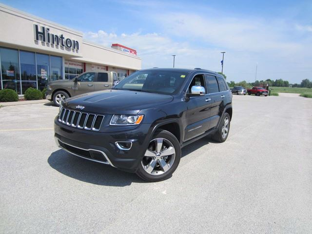 2016 Jeep Grand Cherokee Limited in Perth, Ontario