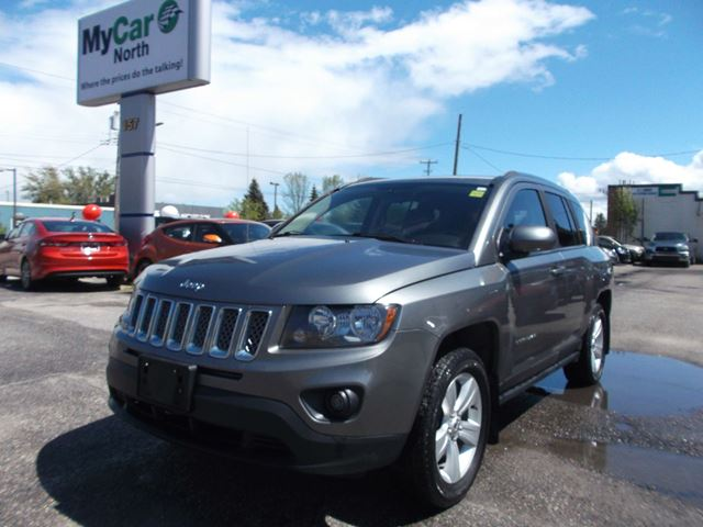 used 2014 jeep compass sport north north bay. Black Bedroom Furniture Sets. Home Design Ideas
