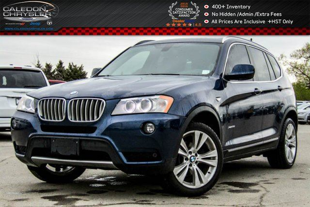 2014 BMW X3 xDrive35i Navi Pano Sunroof Backup Cam Bluetooth Heated Front Seats 18Alloy Rims in Bolton, Ontario