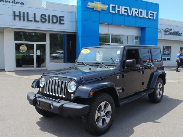 2016 JEEP Wrangler Unlimited Sahara in Charlottetown, Prince Edward Island
