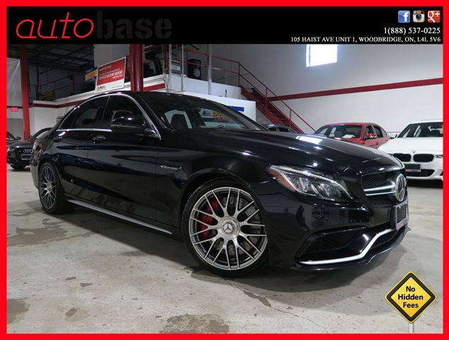 2016 MERCEDES-BENZ C-CLASS C63 S AMG | PREMIUM | INTELLIGENT DRV | AMG SEATS in Woodbridge, Ontario