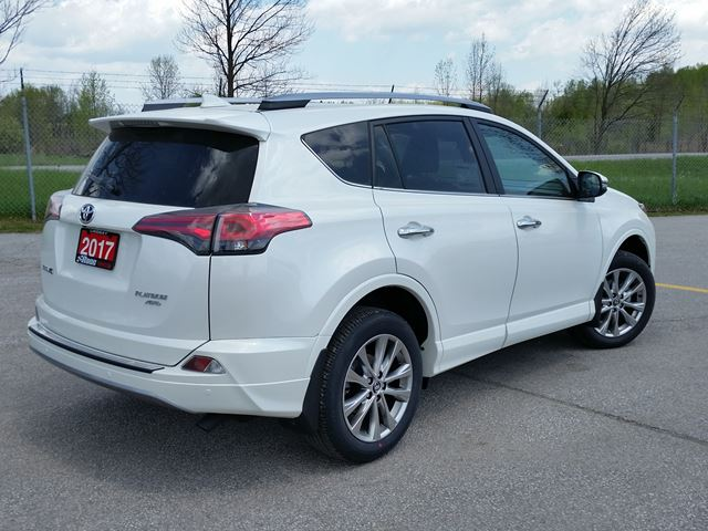 2017 toyota rav4 platinum lindsay ontario car for sale 2781424. Black Bedroom Furniture Sets. Home Design Ideas