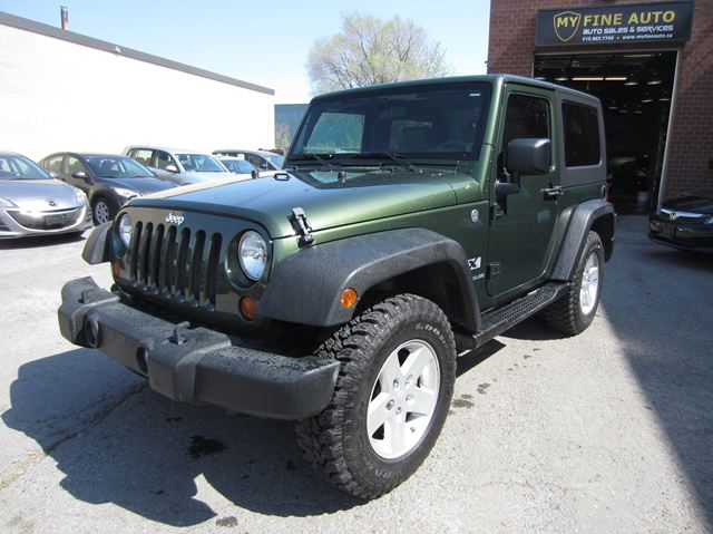 2008 JEEP WRANGLER 4WD / 6 SPD / 137,000 KM / NEW TIRES in Ottawa, Ontario