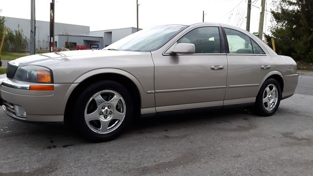 2001 LINCOLN LS LEATHER, SUNROOF, VERY GOOD SHAPE, 146 KMS  in Ottawa, Ontario