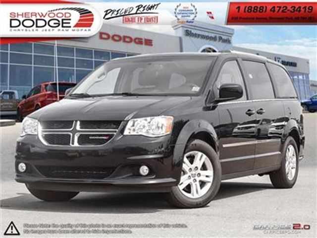 2016 Dodge Grand Caravan CREW   BLUETOOTH   POWER SEAT   STOW & GO in Sherwood Park, Alberta