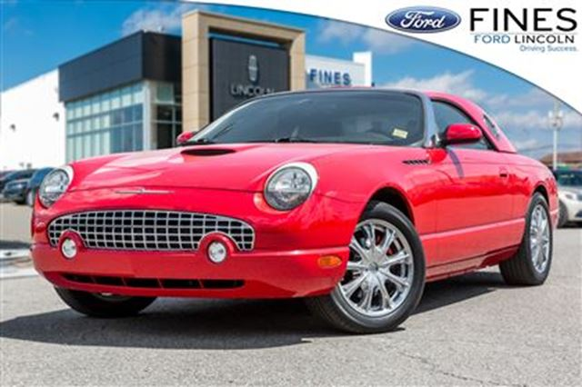 2002 FORD Thunderbird HARD TOP CONVERTIBLE! JUST IN TIME FOR SUMMER! in Bolton, Ontario