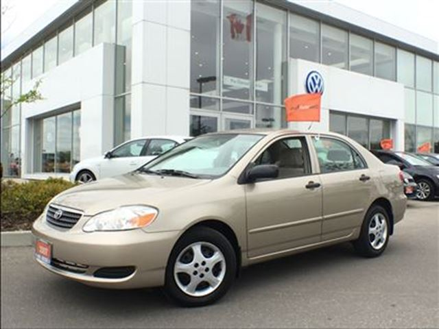 2007 Toyota Corolla 4-Door Sedan CE 4A 100% NO Accidents !! 1 Owner, L in Mississauga, Ontario