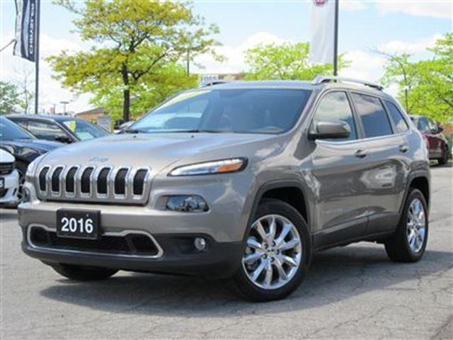 2016 JEEP CHEROKEE Limited*Leather*Navigation*P.Liftgate in Woodbridge, Ontario