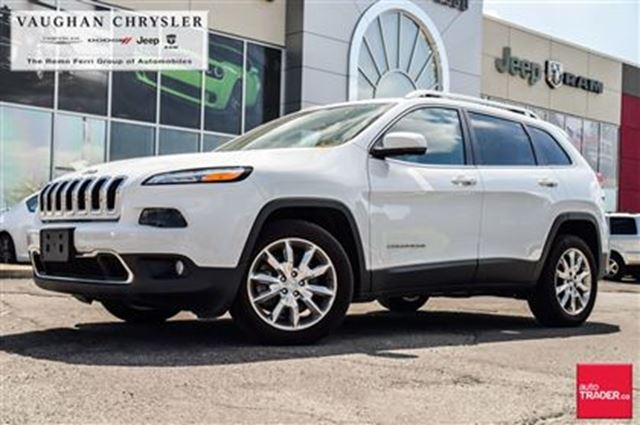 2016 JEEP CHEROKEE Limited* V6 * Panoramic Sunroof *Navigation in Woodbridge, Ontario