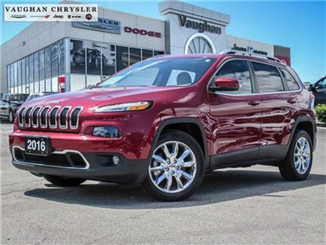 2016 JEEP CHEROKEE Limited*Leather*3.2L V6*Navigation* in Woodbridge, Ontario