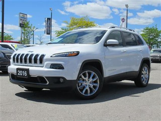 2016 JEEP CHEROKEE Limited*Navigation*V6*P.Liftgate* Only 1963 kms!! in Woodbridge, Ontario