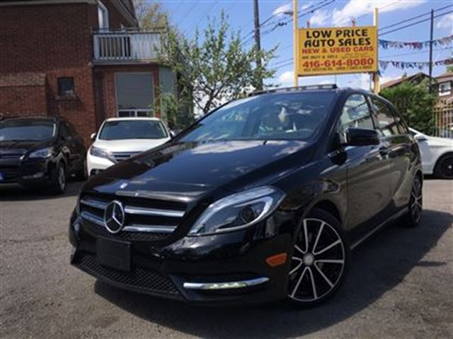 2014 Mercedes-Benz B-Class PanoramicRoof,AmbionLights,Camera&MBWarranty* in Toronto, Ontario