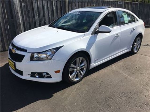 2014 CHEVROLET CRUZE 2LT RS, Automatic, Navigation, Leather in Burlington, Ontario