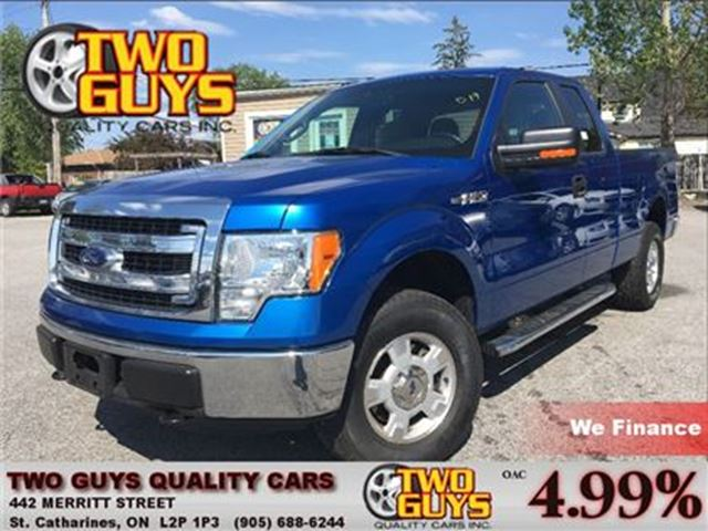 2013 FORD F-150 XLT  4x4   SUPERCAB   3.7L   TOW PCKG in St Catharines, Ontario