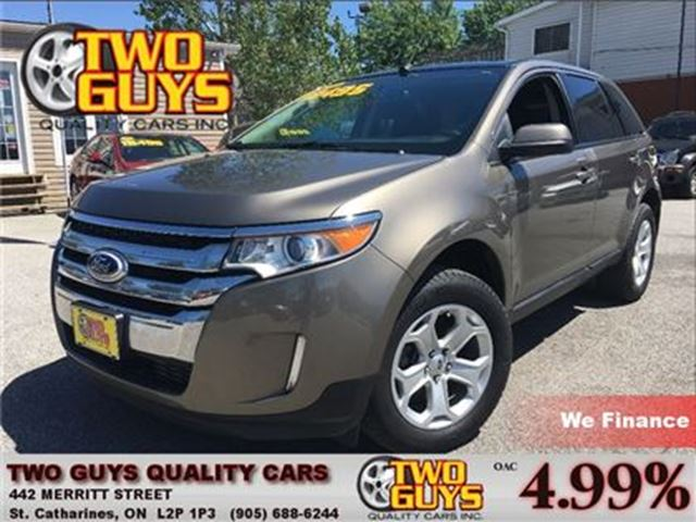 2013 FORD EDGE SEL   NAVIGATION   LEATHER   MOON ROOF in St Catharines, Ontario