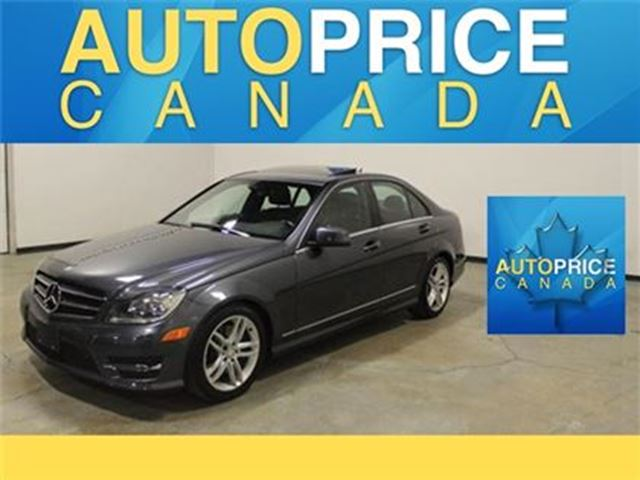 2014 Mercedes-Benz C-Class C300 4MATIC NAVIAGTION BLISS in Mississauga, Ontario