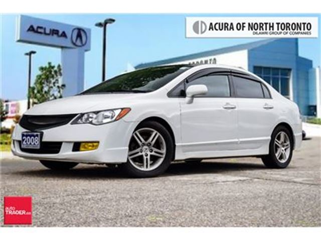 2008 Acura CSX 5 SPD at Touchscreen  Leather Bluetooth Sunroof in Thornhill, Ontario