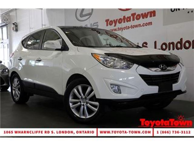 2013 HYUNDAI TUCSON AWD LIMITED LEATHER NAVIGATION in London, Ontario