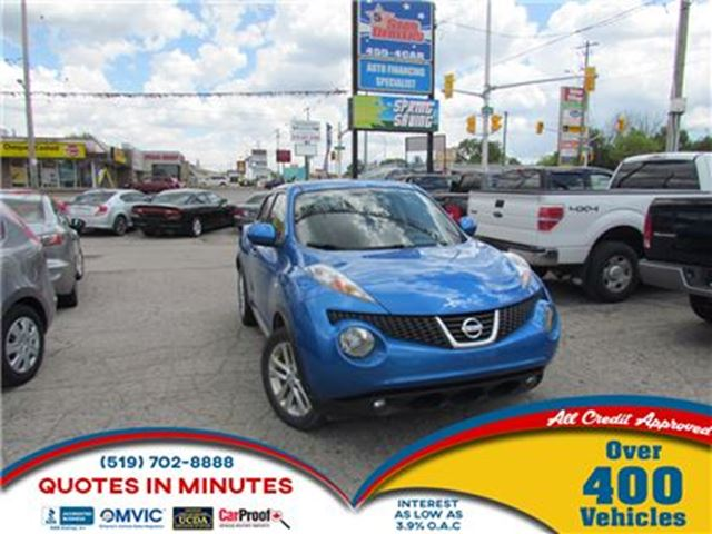 2012 NISSAN JUKE SL   SUNROOF   KEYLESS   HEATED SEATS in London, Ontario