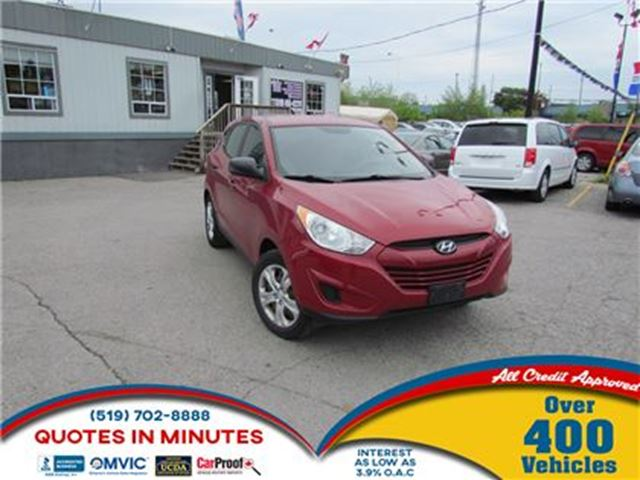 2010 HYUNDAI TUCSON GL   CLEAN   MUST SEE   FINANCING AVAILABLE in London, Ontario