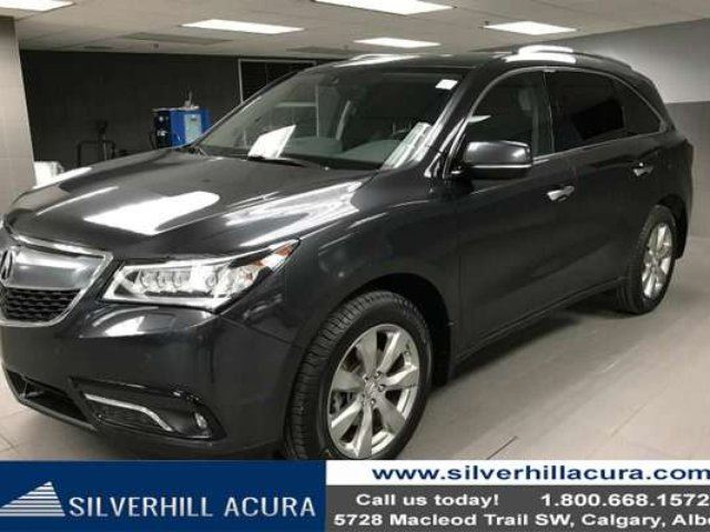 2016 ACURA MDX Elite Package SH-AWD *New Tires, Rear Diff Fluid Changed* in Calgary, Alberta