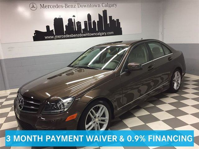 2014 MERCEDES-BENZ C-CLASS C300 4MATIC Avantgarde Tier 1&2 Bi-Xenon+ in Calgary, Alberta