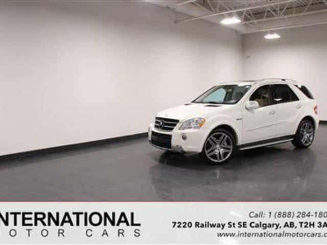 2010 MERCEDES-BENZ M-CLASS ML63 AMG! in Calgary, Alberta