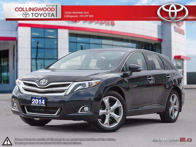 2014 Toyota Venza LIMITED AWD V6 PANORAMIC ROOF AND LEATHER in Collingwood, Ontario