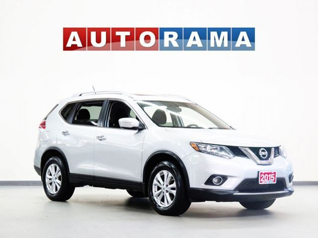 2015 Nissan Rogue SV AWD BACKUP CAM SUNROOF ALLOYS in North York, Ontario